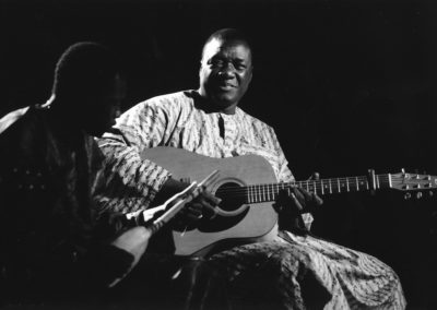 Djelimady Tounkara (Mali) a Angouleme en 2001