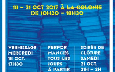 Le Salon du Livre d'Art des Afriques – du 18 au 21 octobre 2017