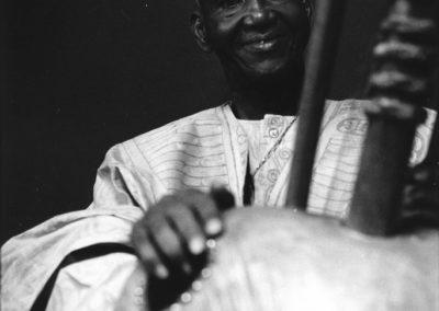 Mbady Kouyate (Guinee) a la cite de la Musique Paris, 1999