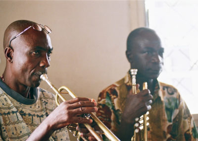 samy trompette et Pierre Mafouta